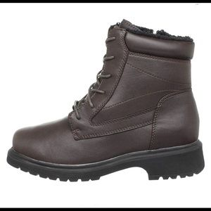 Propet 8.5 2(E) Ankle Shoe Boots Brown Leather